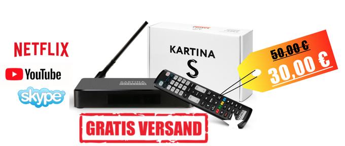 Kartina S bestellen, TV Media Box KartinaTV