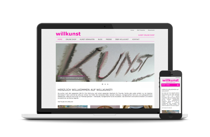 willkunst mit neuer Website live