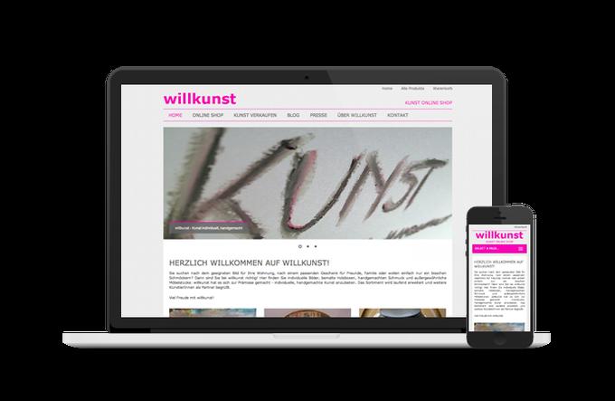 willkunst mit neuer Website live