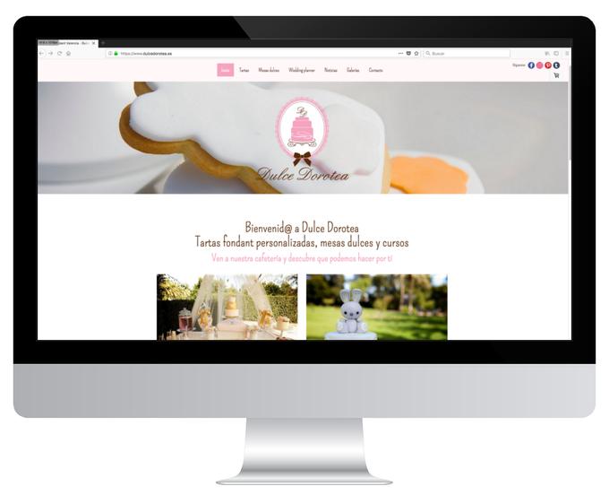 Página web de Dulce Dorotea