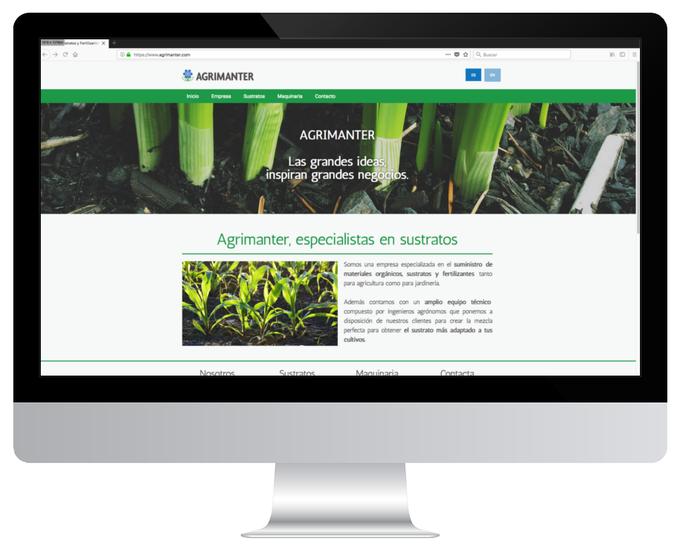 Página web de Agrimanter