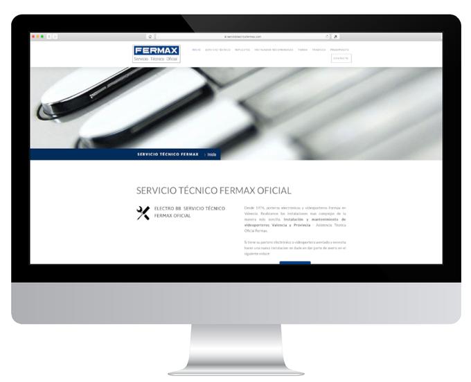 Página web de Electro BB