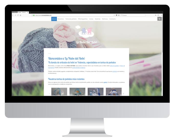 Página web de La Nube del Bebé