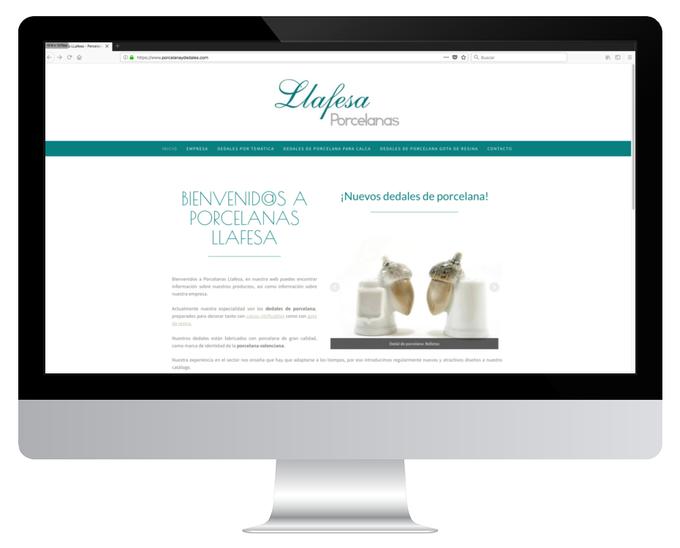 Página web de LLafesa