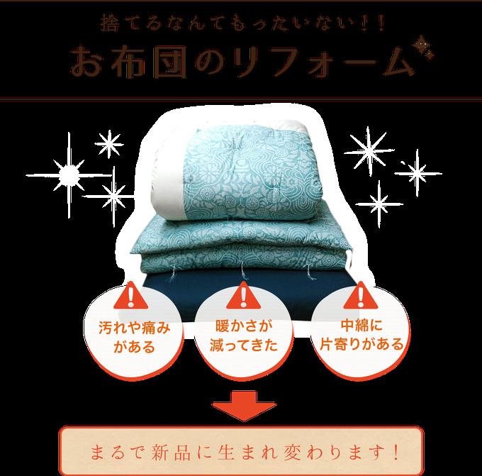 布団のリフォーム