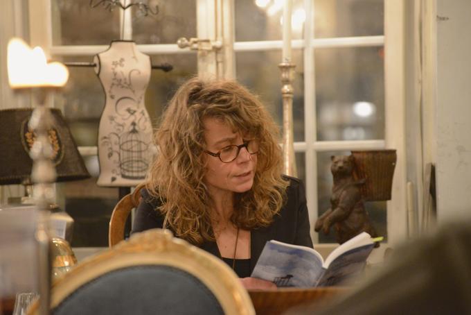 Kerstin Frickmann | Lesung 20-01-2014     Murten    |                                                                                                                    Bild: Toni Bruni