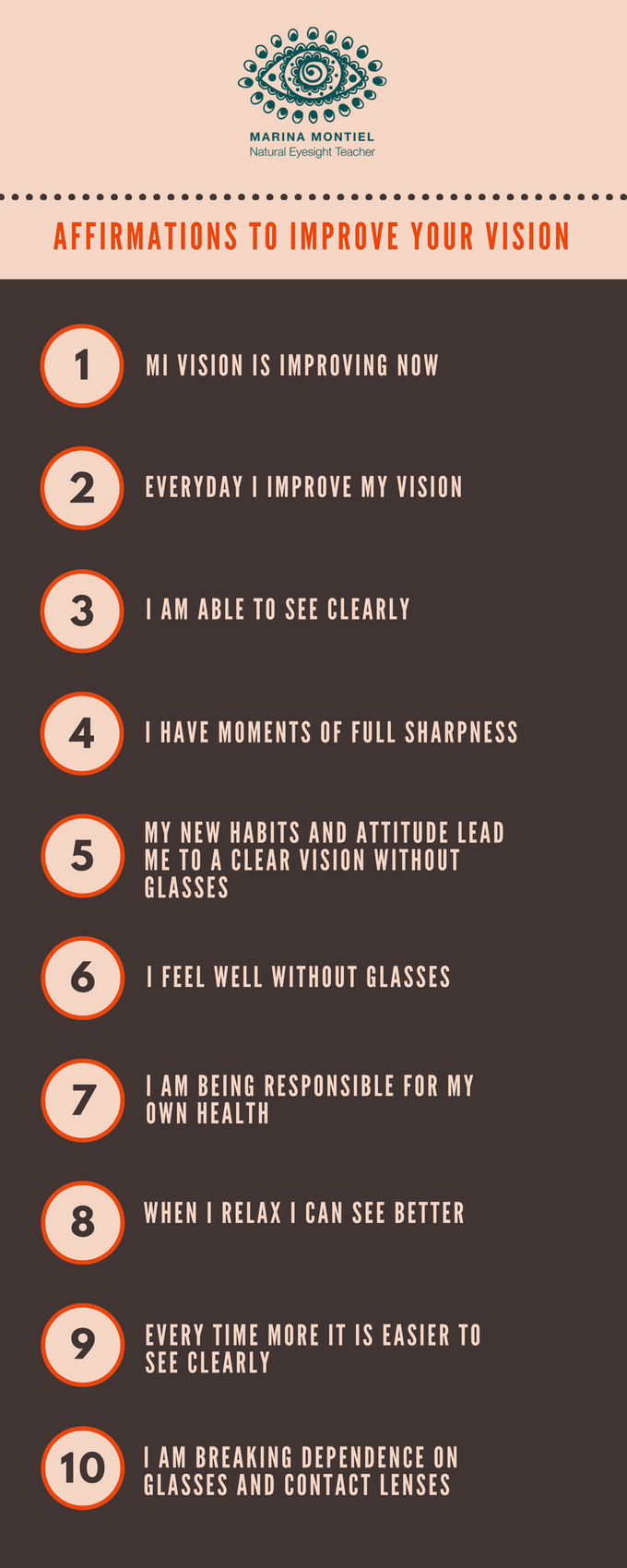The Power Of Affirmations To Improve Your Vision Natural Eyesight