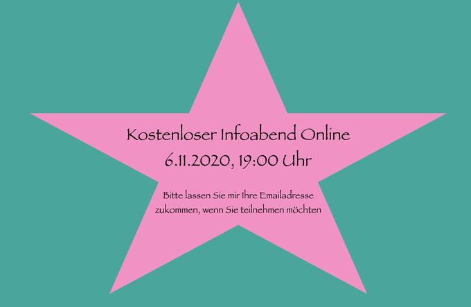 kostenloser Infoabend 6.11.2020 online