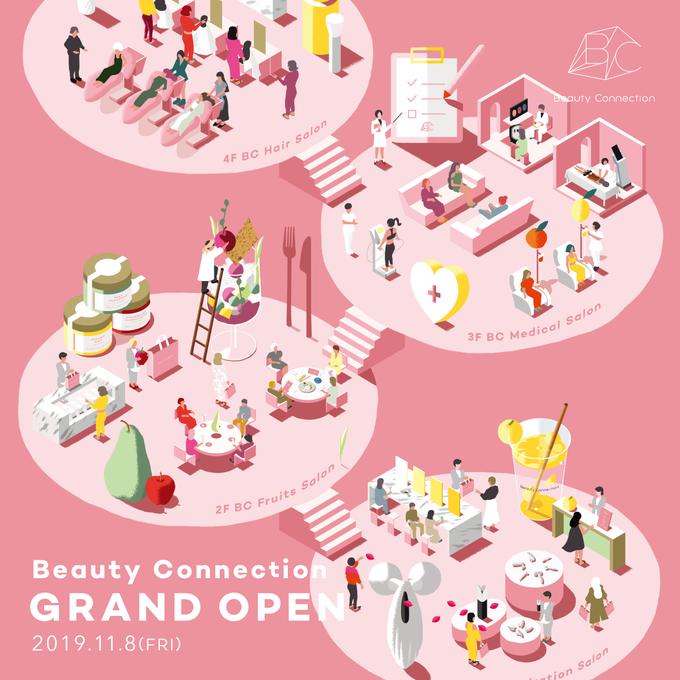 【銀座】Refaが試せる美の複合施設「ビューティーコネクション」がオープン! ジョワーヌ東京