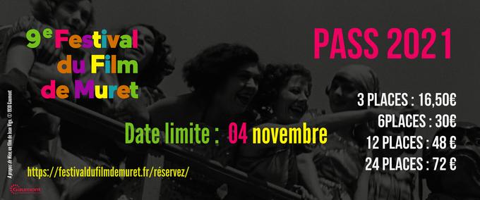Date limite de réservation des pass : 4 novembre 2021