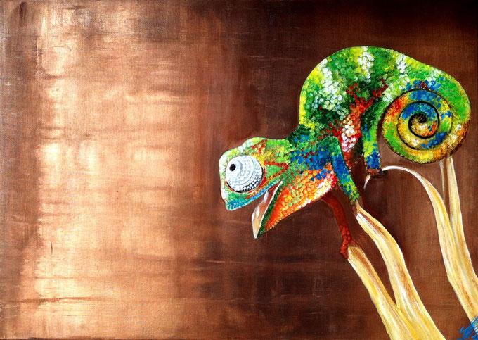 """""""Randall"""", 2012,  acrylic on canvas, 50x70"""