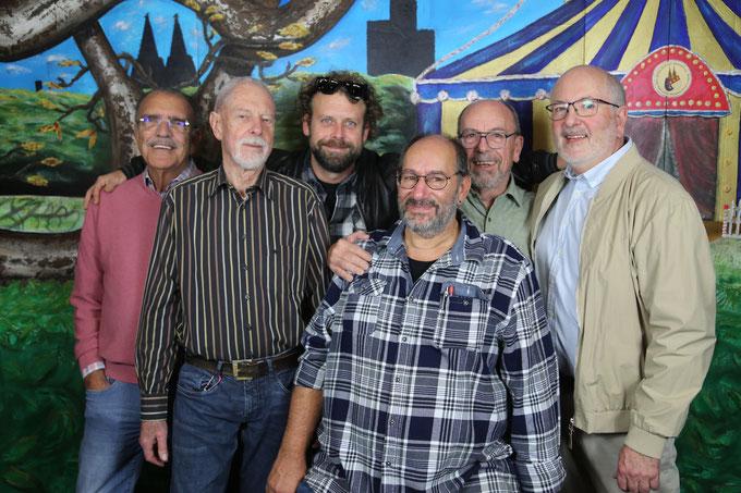 v.l. Willi Meier, Paul Derichsweiler, Bernd Lorrig, Rolf Henseler, Karl Stegemann, Roland Vedder, Günter Borsch,