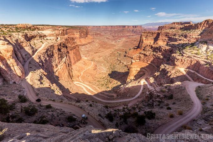 shaferviewpoint,canyonlands, islandinthesky, national, park, usa, tipps,wandern, wandertipps, selbstfahrer,trekking,herbst,oktober