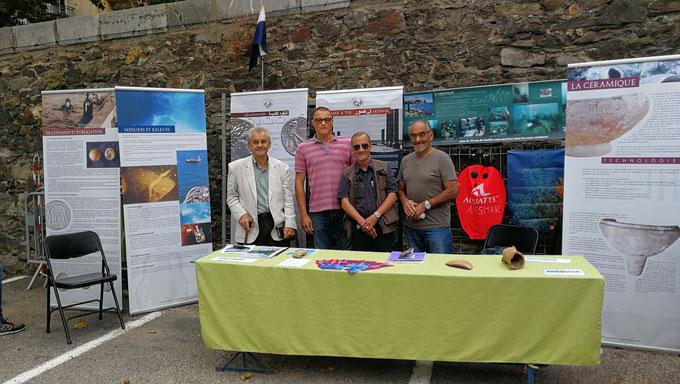 L'ARESMAR fait découvrir l'archéologie subaquatique aux Port-Vendrais