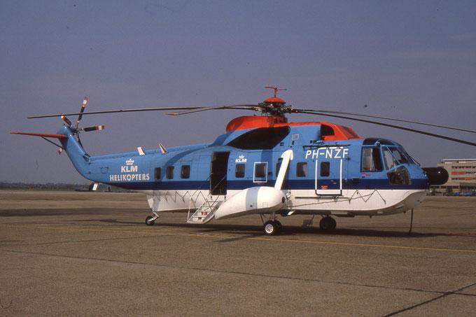 Sikorsky S-61N-56 c/n 61-742,  KLM Noordzee Helikopters dal 1975 al 1989 © 2016 courtesy of Marco Ceschi - Piti Spotter Club Verona