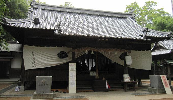 高忍日賣神社写真