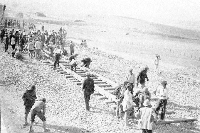 Строительство Трансиранской железной дороги