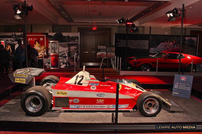 CIAS 2017: Ferrari Gilles Villeneuve 1978 first victory car