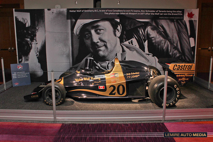CIAS 2017 : 50 YEARS OF FORMULA 1 IN CANADA - WOLF RACING - JODY SCHECKTER