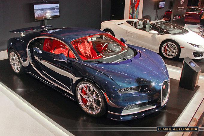 CIAS 2017: Bugatti Chiron