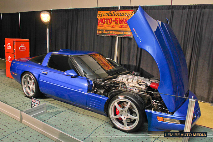 Corvette ZR-1 1994 Mike Gill Muscle car Matchup