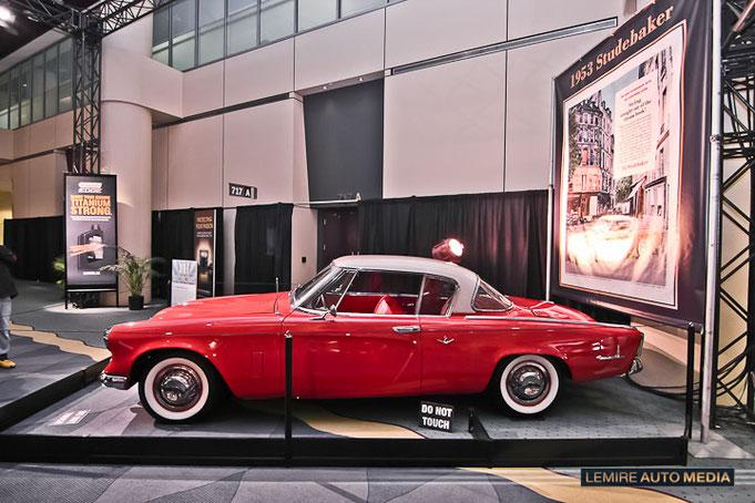 Studebaker Starliner Coupe 1953 Studbacker Studebacker