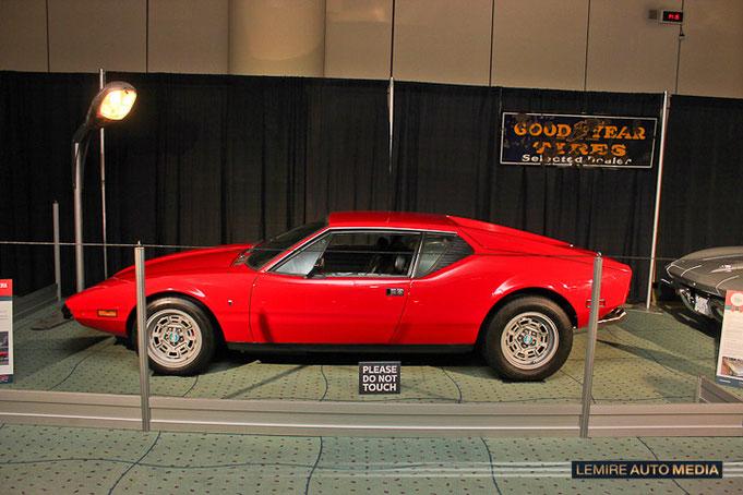 Detomaso Pantera 1973 David Cantagallo Muscle car matchup