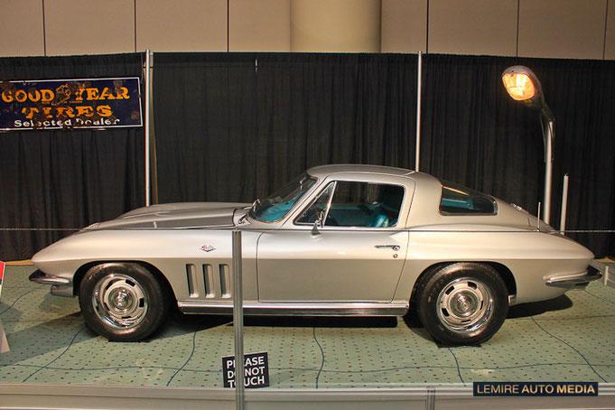 Corvette Stingray 1966 Tony Basile Muscle Car Matchup