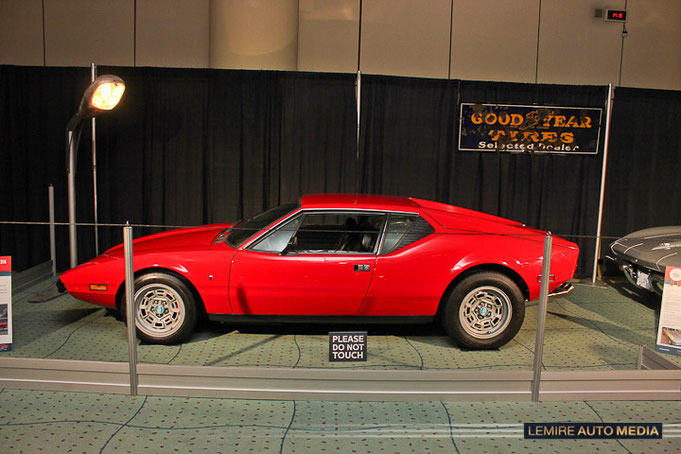 Detomaso Pantera 1973 David Cantagallo Muscle car matchup