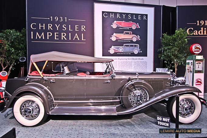 Chrysler Imperial Dual Cowl Phaeton 1931