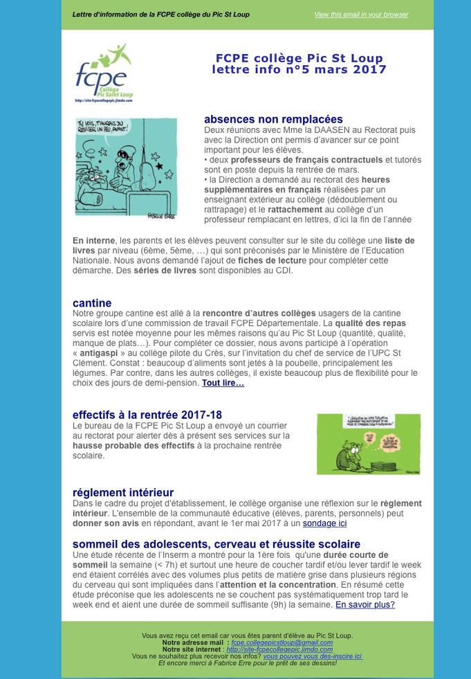 fcpe.collegepicstloup@gmail.com, college Pic St Loup