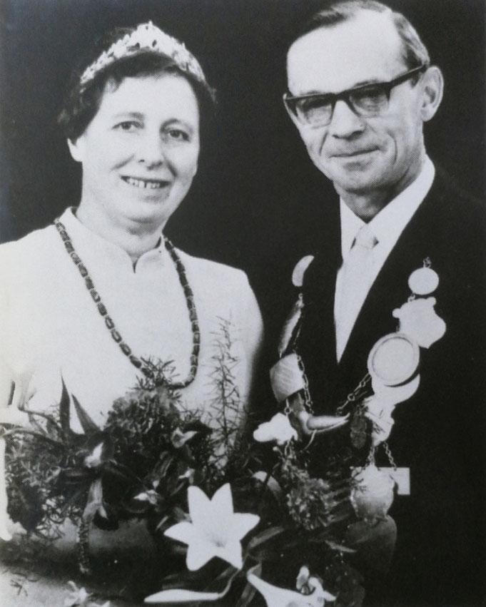 1970: Königspaar Anton und Toni Althoff (geb. Kalthoff)