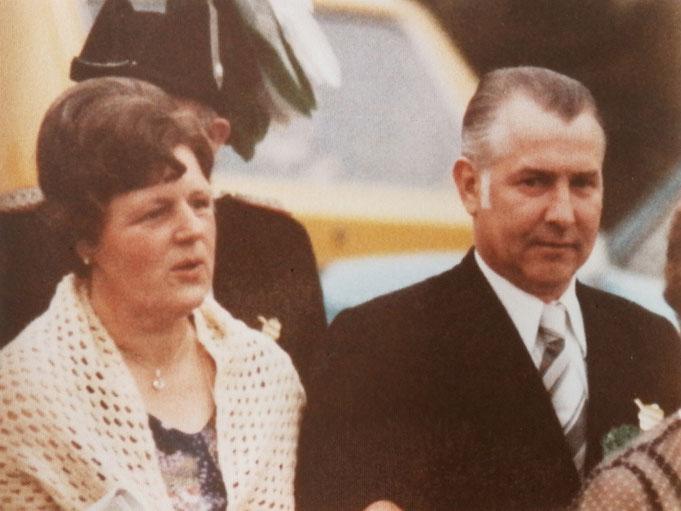 1976: Königspaar Helmut und Annelise Schäfers (geb. Brinkbäumer)