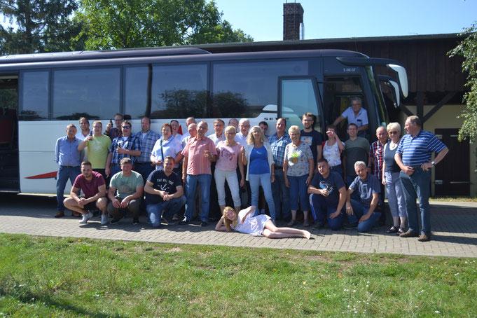 10.08.2019: Fahrt nach Königshorst zum 300jährigen Jubiläum