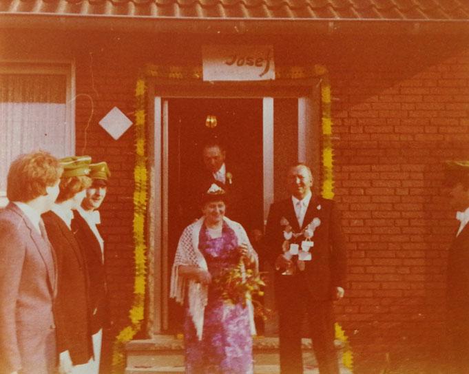 1980: Königspaar Josef und Klara Havighorst (geb. Ashauer)