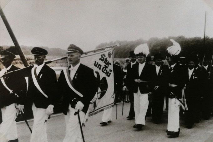 1964: Königspaar Alfons Flaßkamp und Mechthild Duhme