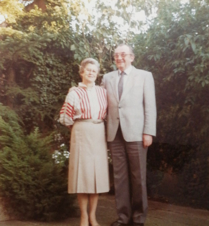 1972: Königspaar Albert und Marga Mußenbrock (geb. Scherf)