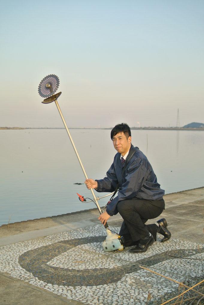 地元・佐原から空き家の管理・お庭の手入れをはじめ、お手伝いいたします CNS株式会社代表取締役 鈴木侑也(すずき ゆうや)