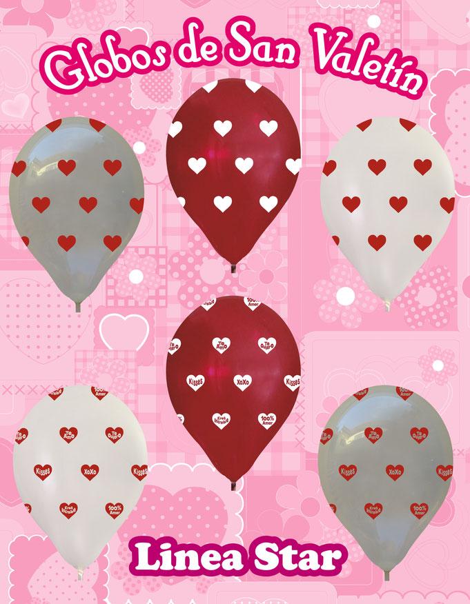 globos para san valentin