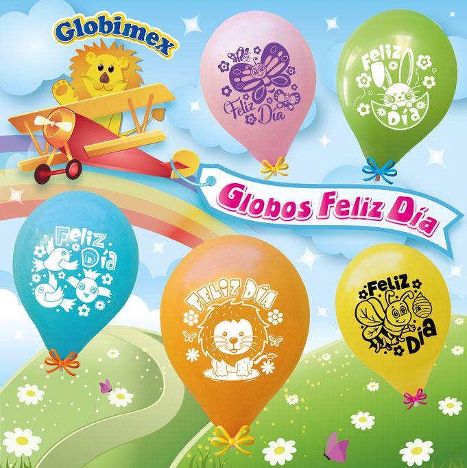 globos de animales