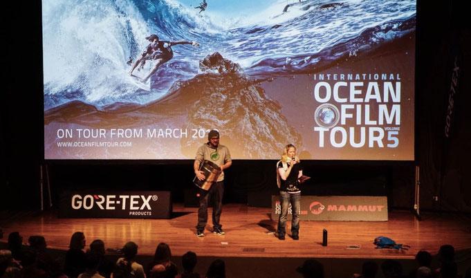 On Tour mit der International Ocean Film Tour