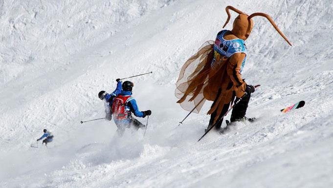 Evénement multi glisses N°1 en Pyrénées, ski, monoski, télémark, snowboard, snow-boot, Derby des Pyrénées