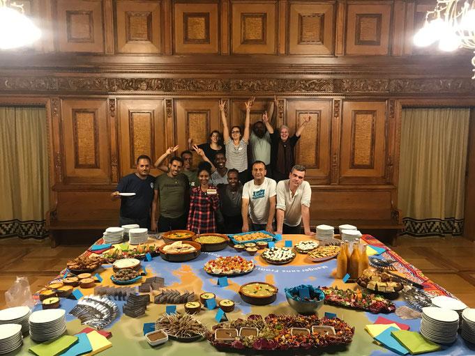 Manger sans frontières im Rathaus, 19. August 2019