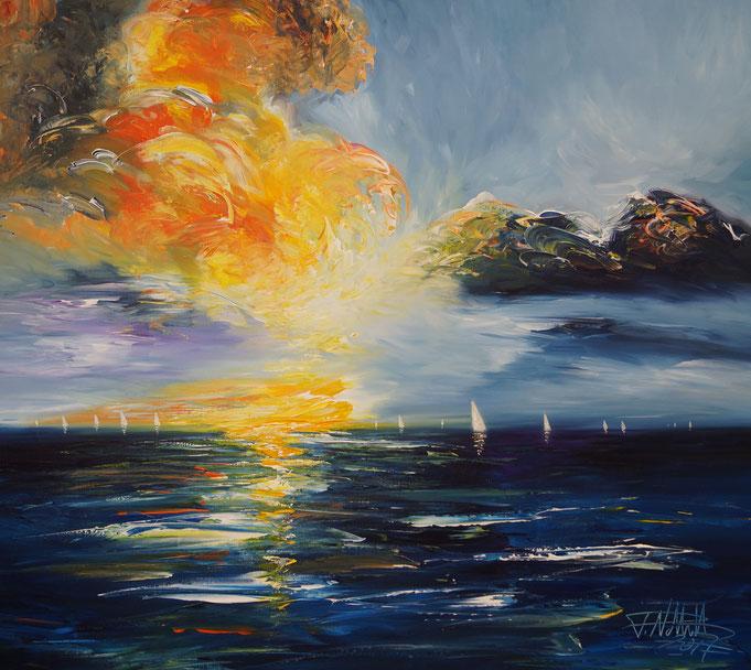 sundown painting