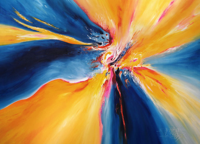 bright colorful painting