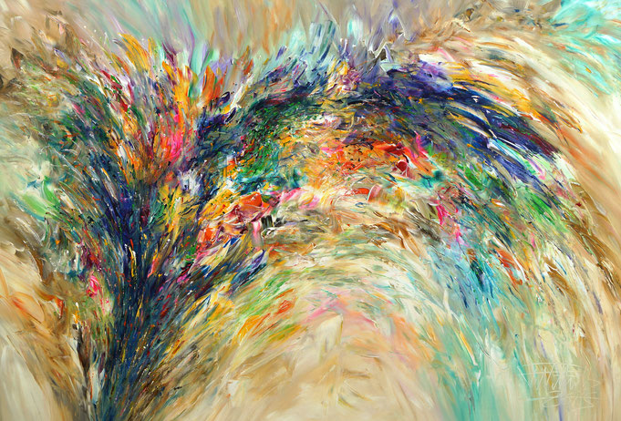 abstract original, modern painting