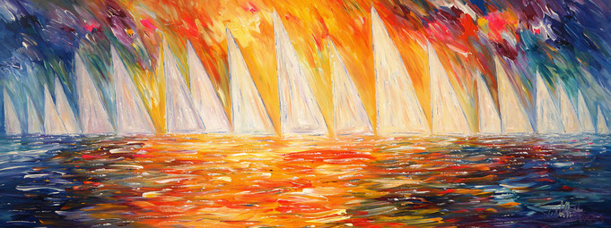 sailing paintings