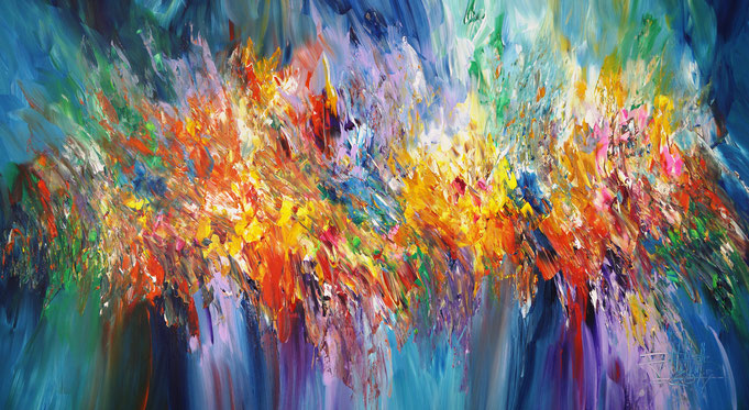 large abstract painting, original artwork