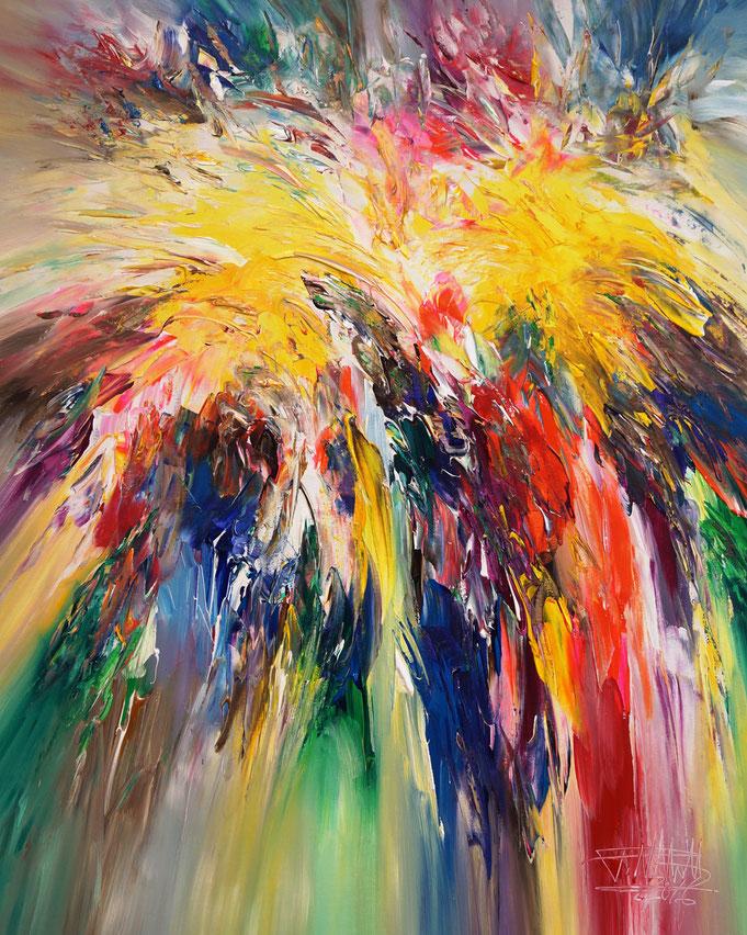 Modern art by Peter Nottrott: painting