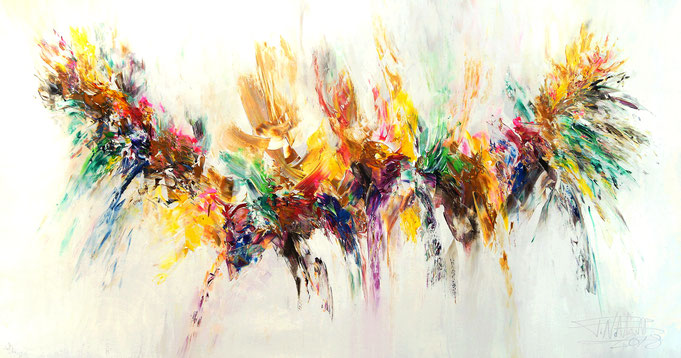 abstract large paintings